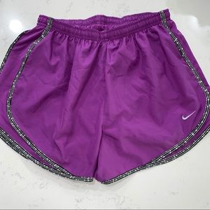 Nike tempo shorts purple in Womens sz L